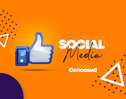 Social Media Tarjeta Cencosud