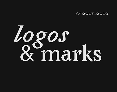 Collection of logos & marks