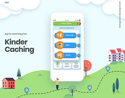 Kinder-Catching   IOS and Android app