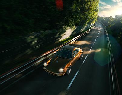 Porsche CGI test