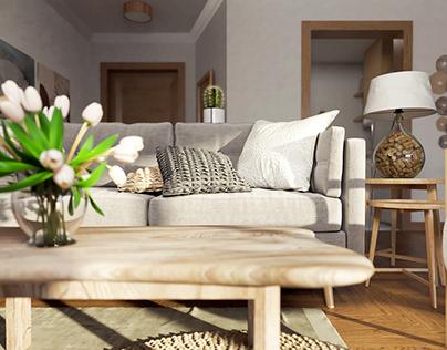 Swanlake Gouna Chalet Interior Design