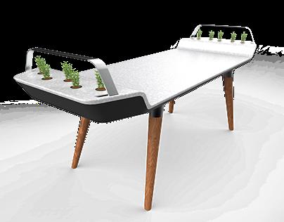 Avia Planter Table
