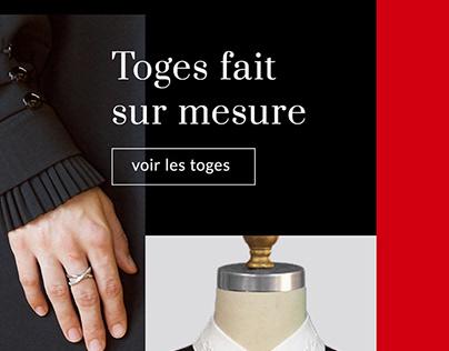 Fashion Designer Website