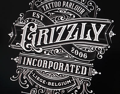 Typography Composition 1 - Grizzly Incorporated