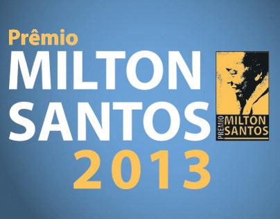 Prêmio Milton Santos 2013 - CMSP