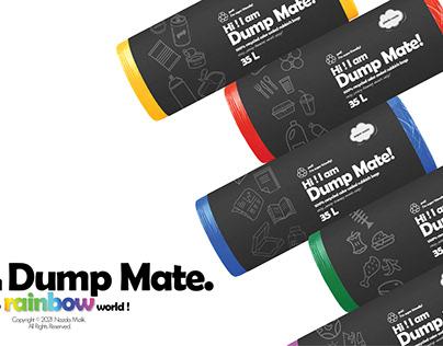 UX/ Product Design_Dump Mate Bin Bag Packaging Concept