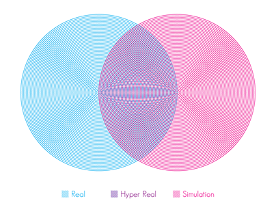 Hyper Real Exhibition Poster