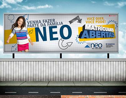 Campanha - Colégio Neo Objetivo - Porangatu/GO