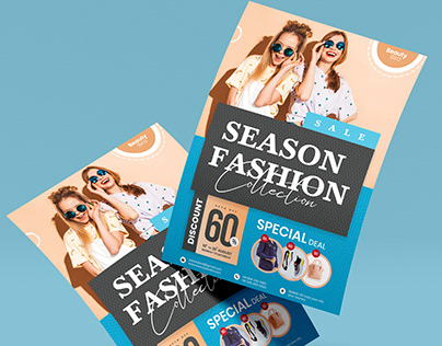 Season Fashion Sale Flyer