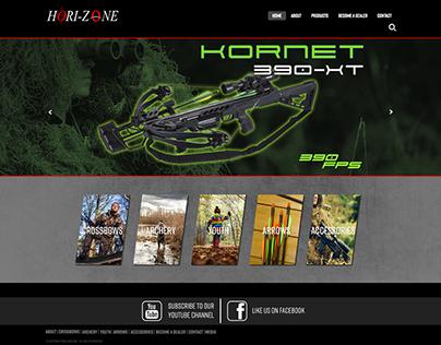 Hori-zone website