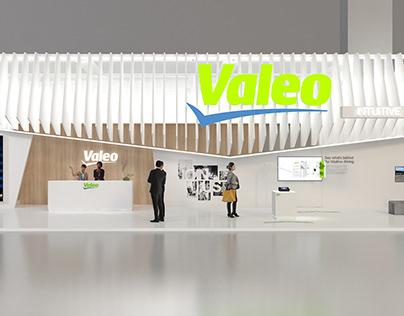 Satnd VALEO salon de l'automobile de Francfort