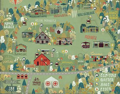 Festival Map - Wilde Möhre 2015 (KOPIE)
