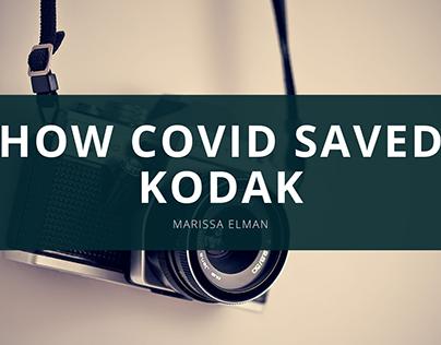 How COVID Saved Kodak