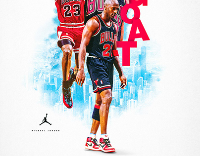 The GOAT   MJ Poster