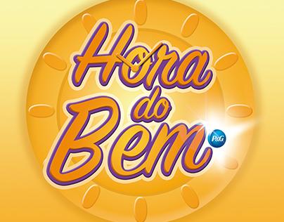 Logo da campanha de incentivo - Hora do Bem P&G