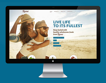 Raisa's ~ Website design