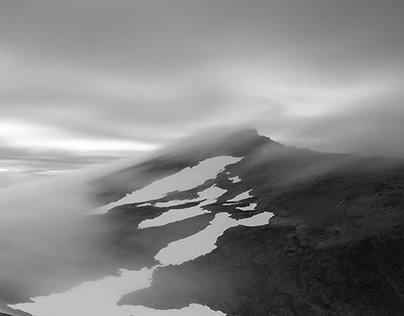 THE FROZEN NORTH - Arctic Norway in B&W