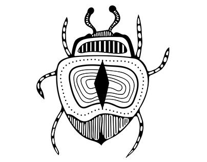 Mönster insekter