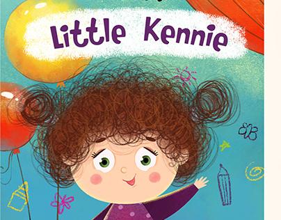 About Little Kannie.Children book