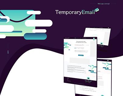 Web App TemporaryEmail