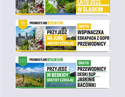 Kampania promocyjna Promocyjne Lato 2021 w Śląskim