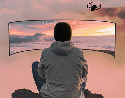 ARRI D - mind controlled drone