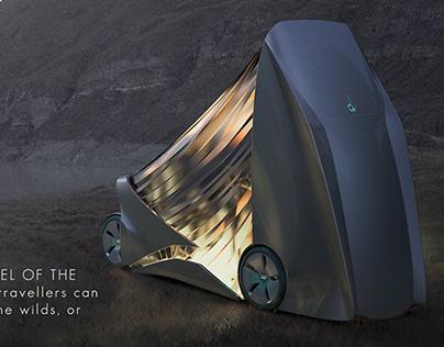 Citroen Camping Van. 3rd term project. 2012-02.2013