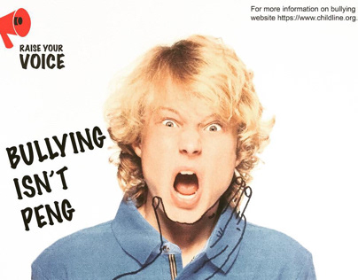 Bullying advertising campaign, Raise Your Voice