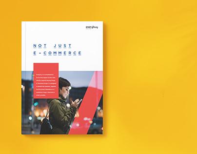 Everybuy Brochure design