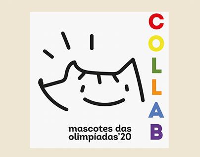 COLLAB: Mascotes das Olimpíadas 68-21