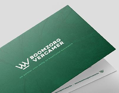 Boomzorg Vercamer logodesign en branding