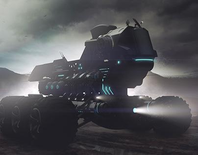 "Space rover 04 ""Iguana"""