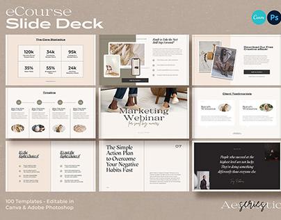 eCourse Slide Deck