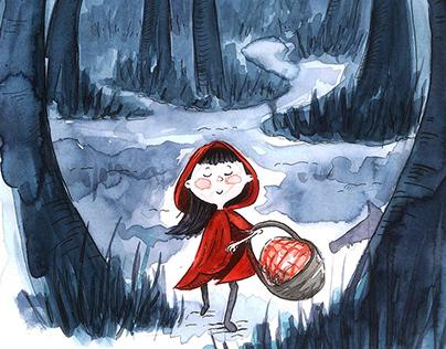 Kırmızı Başlıklı Ormanda