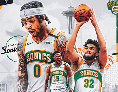 """Minnesota Timberwolves x Seattle Sonics"" Relocation"