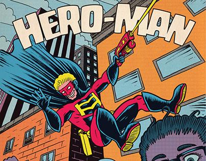 Hero-Man - Comic (Coming April 2020)