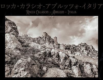 A samurai at Rocca Calascio