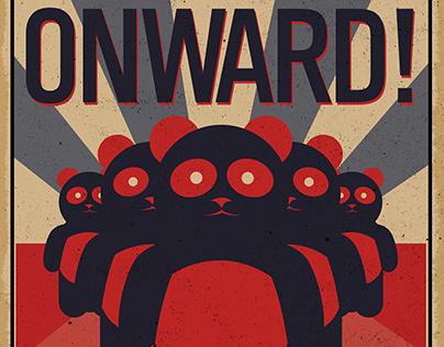Propapanda- Panda Propaganda posters