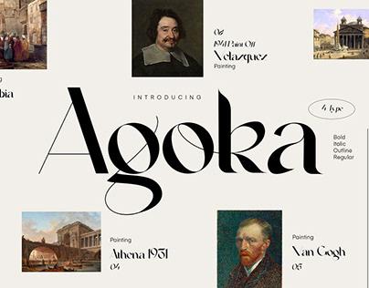 Agoka Modern Classic Typeface