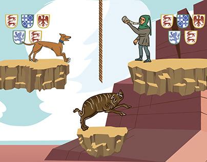 Medieval Platform Game