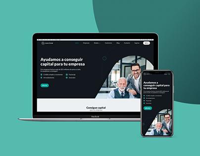 UX/UI: Website development