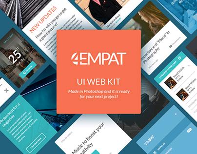 Empat - Free UI Kit