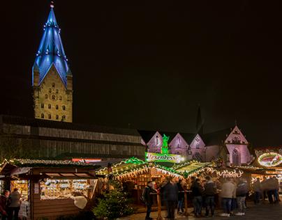 Der Paderborner Weihnachtsmarkt  - Timelapse