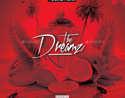 The Dreamz | Hip-Hop Mixtape Album CD Cover Template