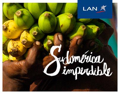LAN - Vive el color de Sudamérica