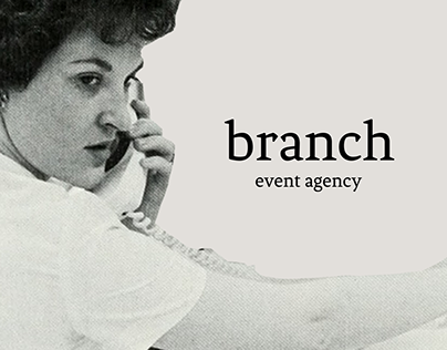 Branch Event Agency Visual Identity