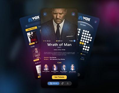 Cinema Booking Mobile Application - UI/UX