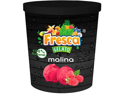 Fresca Gelato Ice cream container 500ml