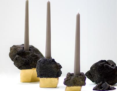 Lanzarote candleholder soportes para velas on behance - Soporte para velas ...