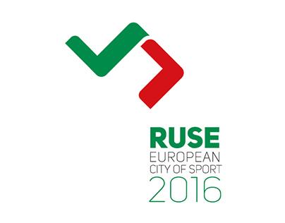 Ruse 2016 European city of sport - logo contest